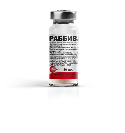 Rabbivak – B vaccine