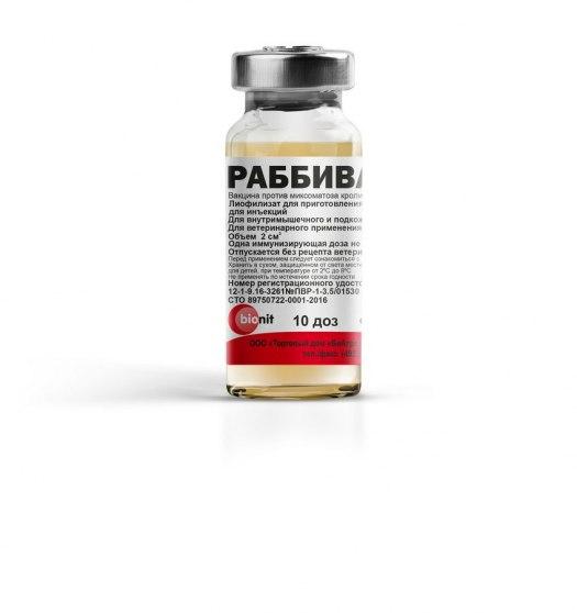 Rabbivak – V vaccine